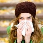 combating cold flu season office